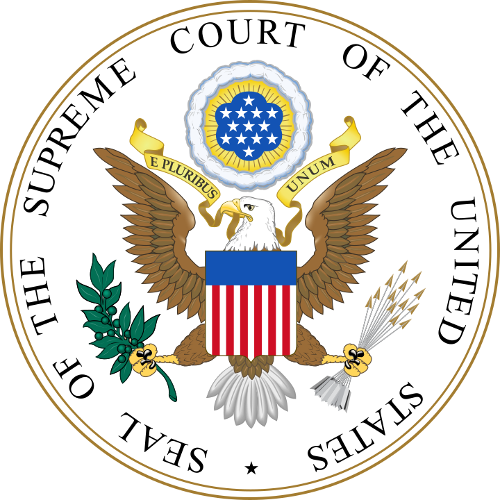 Official seal of the Supreme Court.