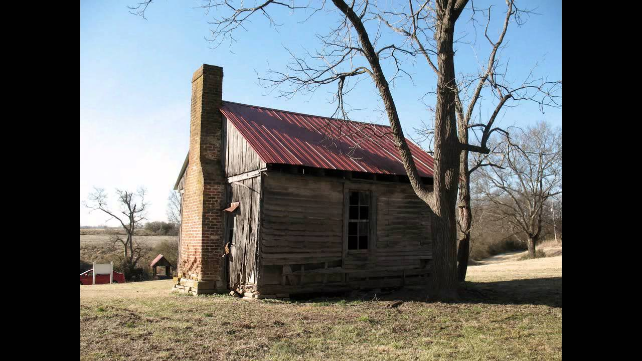 The only surviving slave cabin.