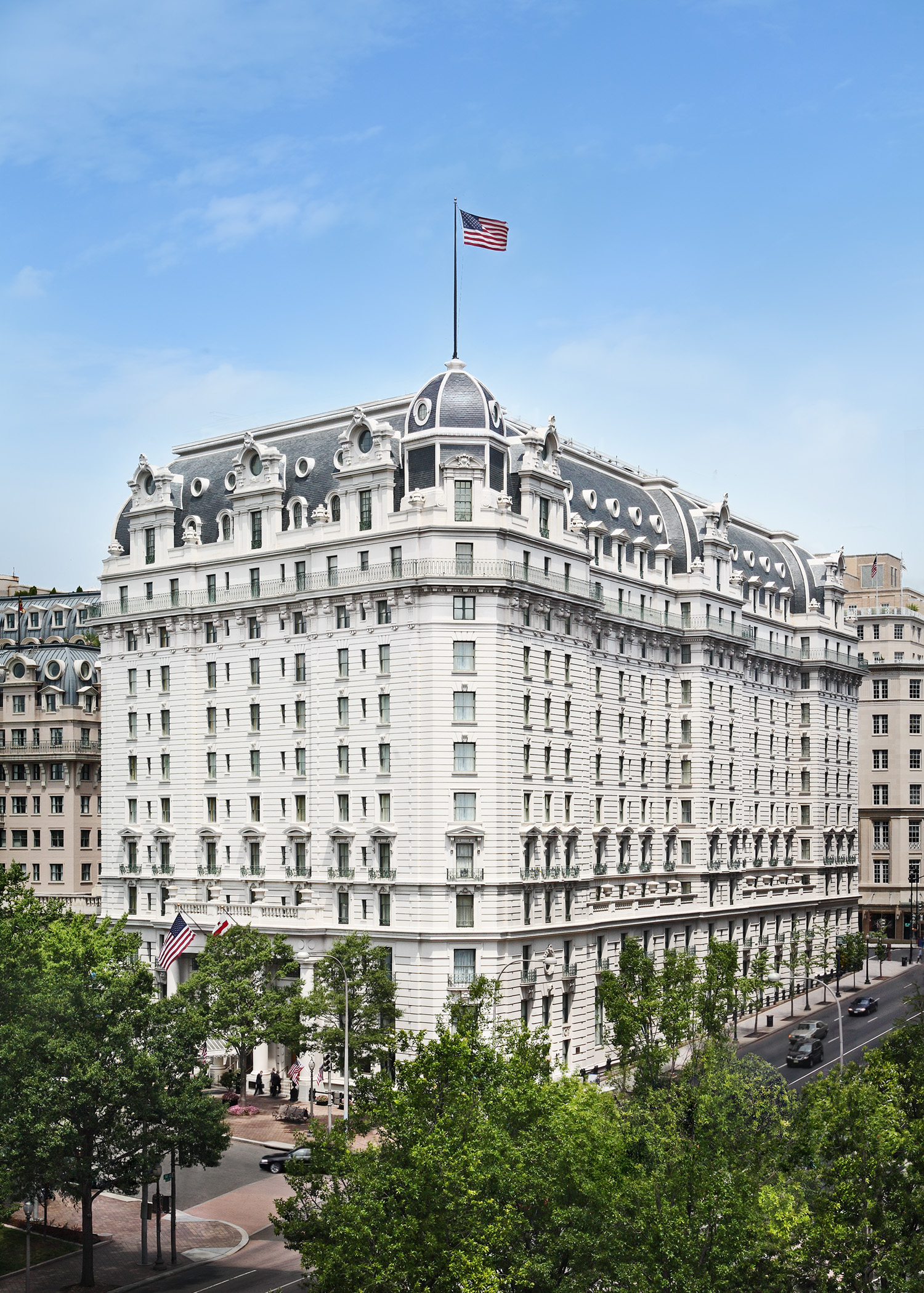 The Willard InterContinental is a historic hotel located one block away from the White House in Washington DC. It has a long and storied history of hosting presidents, celebrities, heads of state and more.