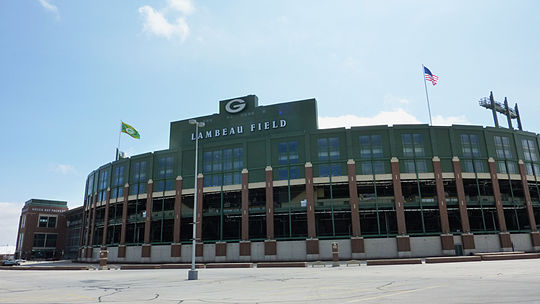 View outside Lambeau
