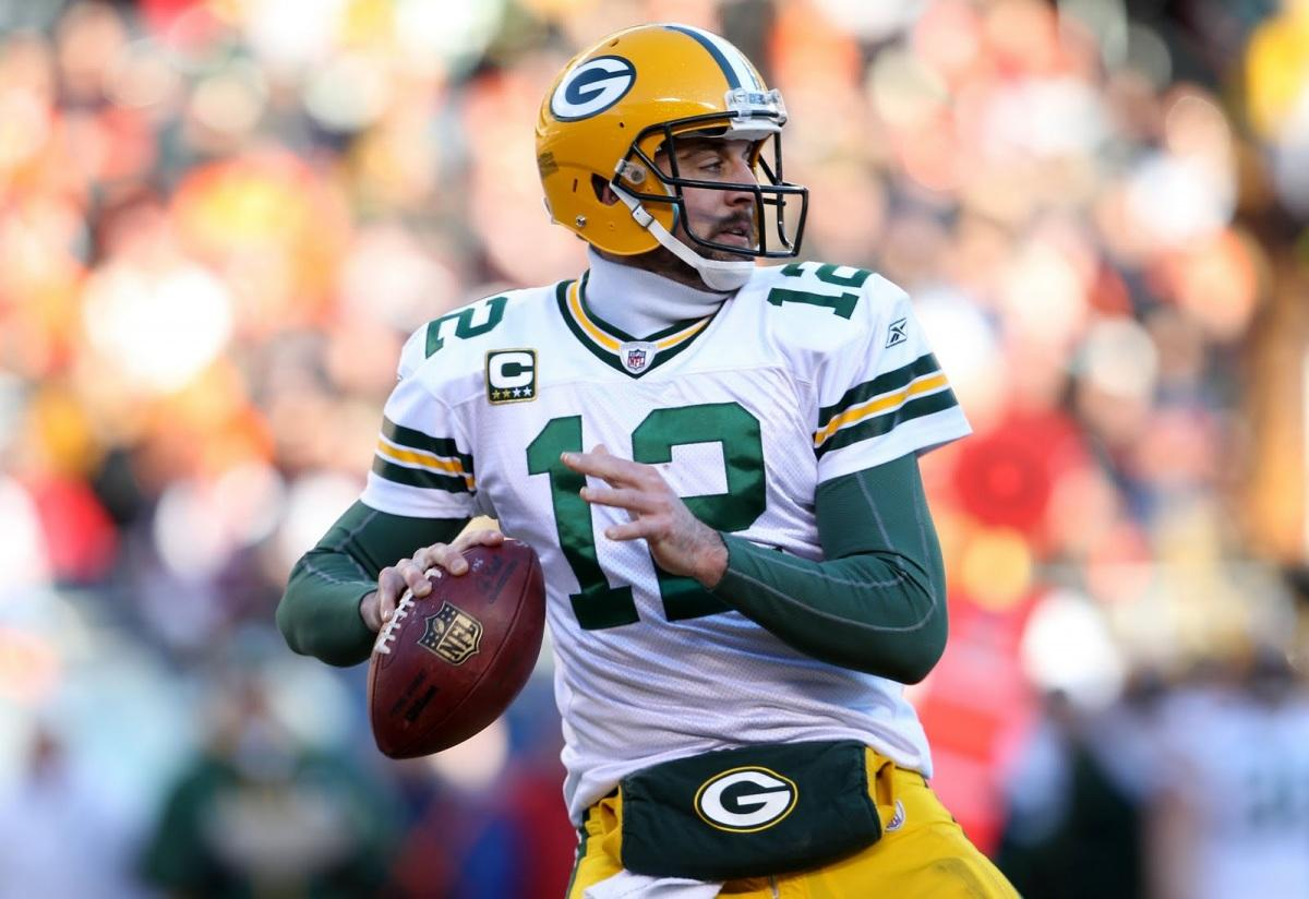 Current Packer Quarterback Aaron Rodgers