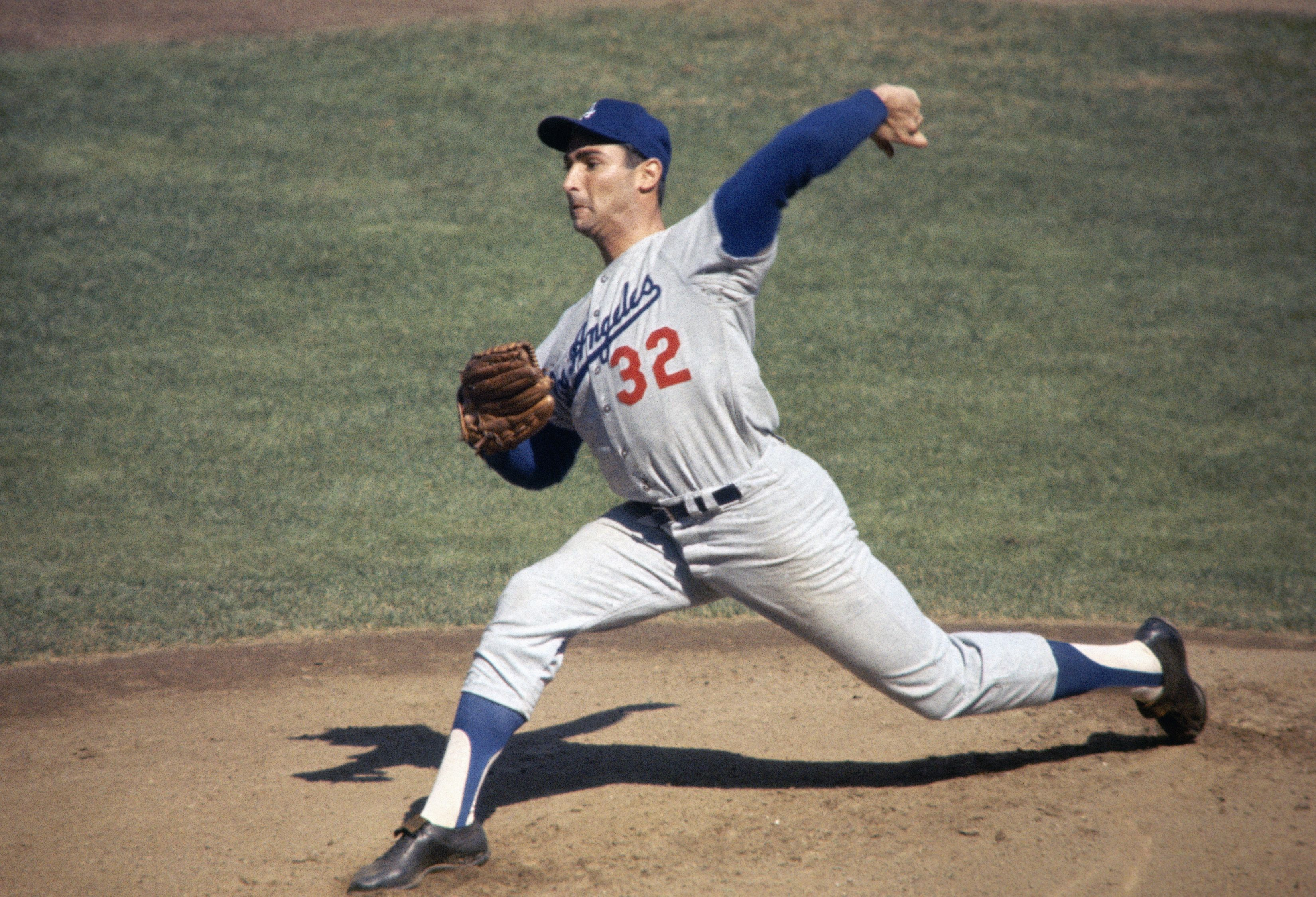 Dodger Hall of Fame Pitcher Sandy Koufax