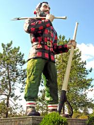 This is an image of the statue in Bangor, Maine