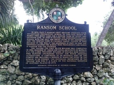 Ransom School historical marker