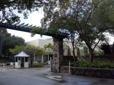 Entrance to the Ransom Everglades School