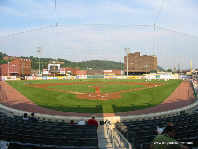 Appalachian Power Park was completed in 2004 and replaced Watt Powell Park as the home of Charleston's professional baseball team.