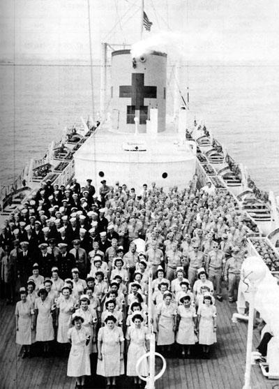 USS Comfort Crew