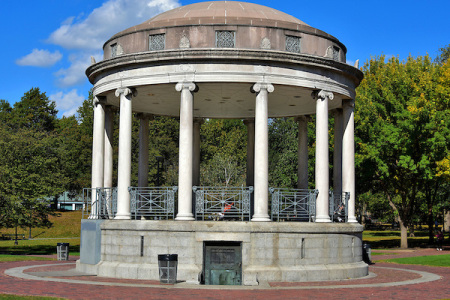 Parkman Bandstand from the back