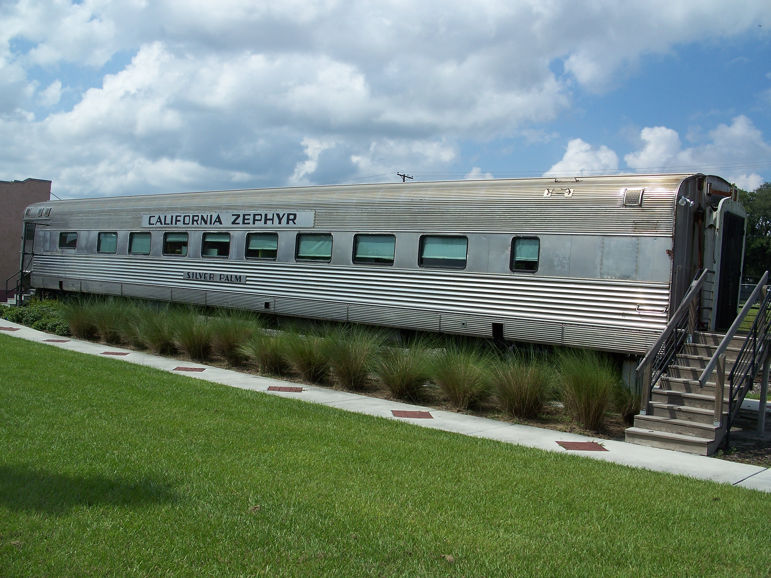 The California Zephyr Dining car