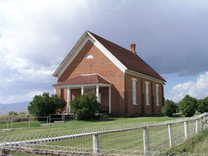 Former LDS Meetinghouse, now museum of Daughters of Utah Pioneers