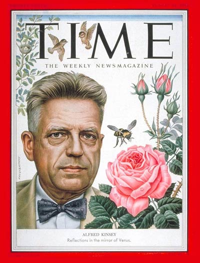 Dr. Alfred Kinsey on the Cover of Time Magazine- Augst 1953