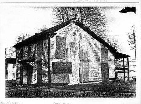 The house, circa 1989