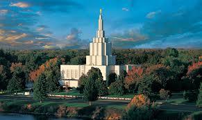 Idaho Falls temple today