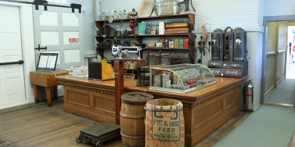 The general store display