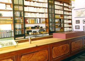 First floor of shop