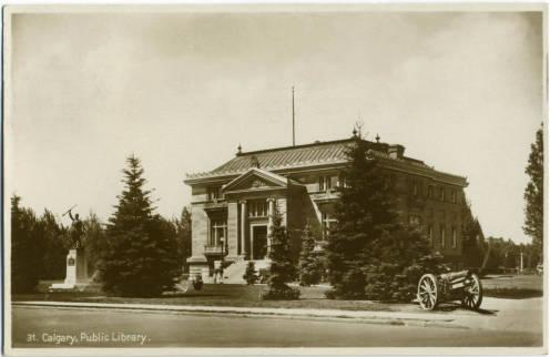 Memorial Park Library, 1933