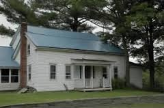 Joseph Knight Sr. Home as it looks after its restoration completed September 2015