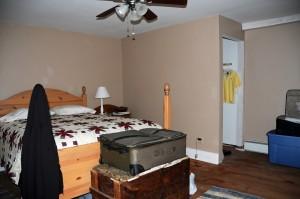 Upstairs bedroom in home