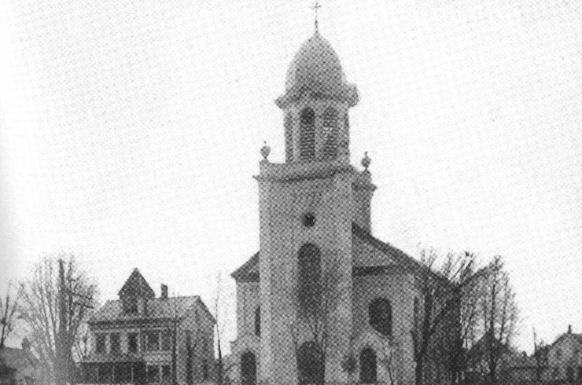 St. Patrick's Church after the 1911 improvements.