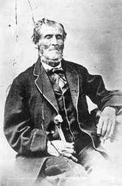 Possible 1840s photo of Martin Harris.