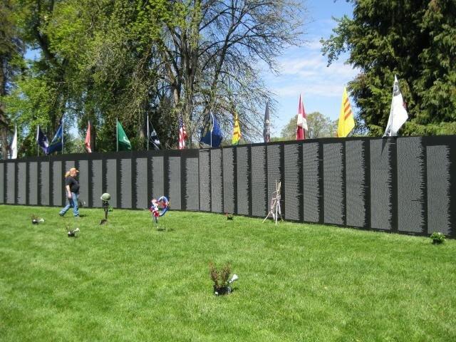 Vietnam Travling Wall Memorial.