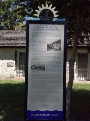 Fort Dallas historical marker