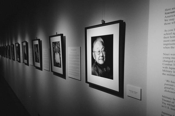 Photos from the Twice Heroes exhibit.
