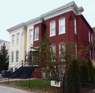 "The Edward ""Duke"" Ellington residence. For a map of places where Ellington lived and performed in the city, please click on the link titled ""Duke Ellington's Washington."""