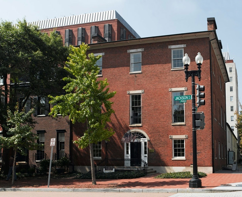 Decatur House is one the oldest remaining houses in Washington D.C. It was built by the father American architecture, Benjamin Henry Latrobe.
