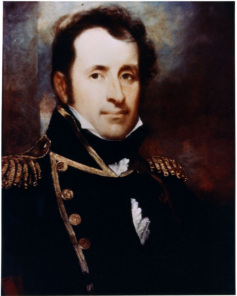 Navy Captain, Stephan Decatur, the home's first occupant and namesake
