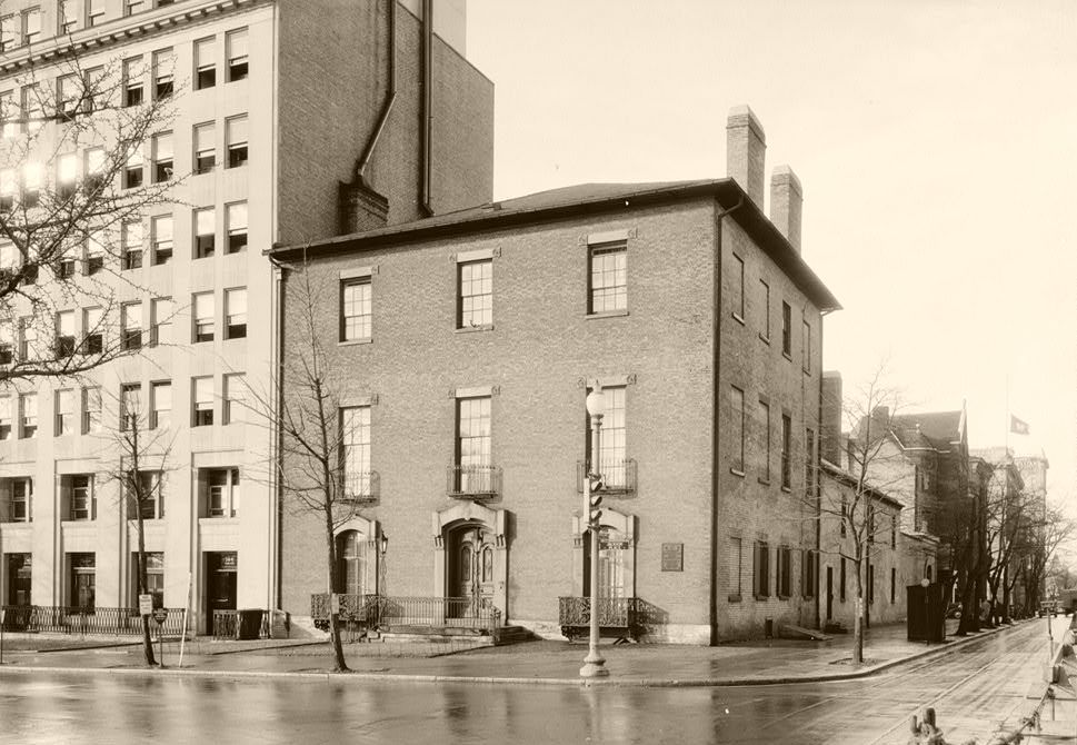 Decatur House in 1937