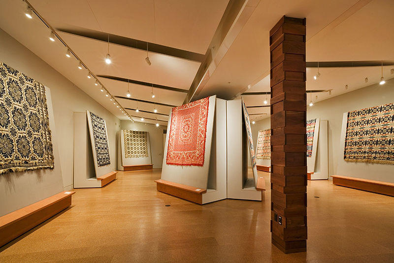 Visitors can discover the history of weaving and folk traditions of the region through exhibits, interpretive projects, educational programs, and research. The McCarl Coverlet Gallery is a must see location for adults and children alike.