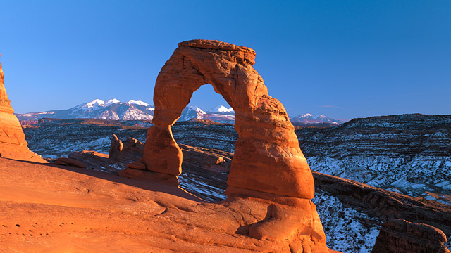 Delicate Arch is one of the iconic symbols of Utah.