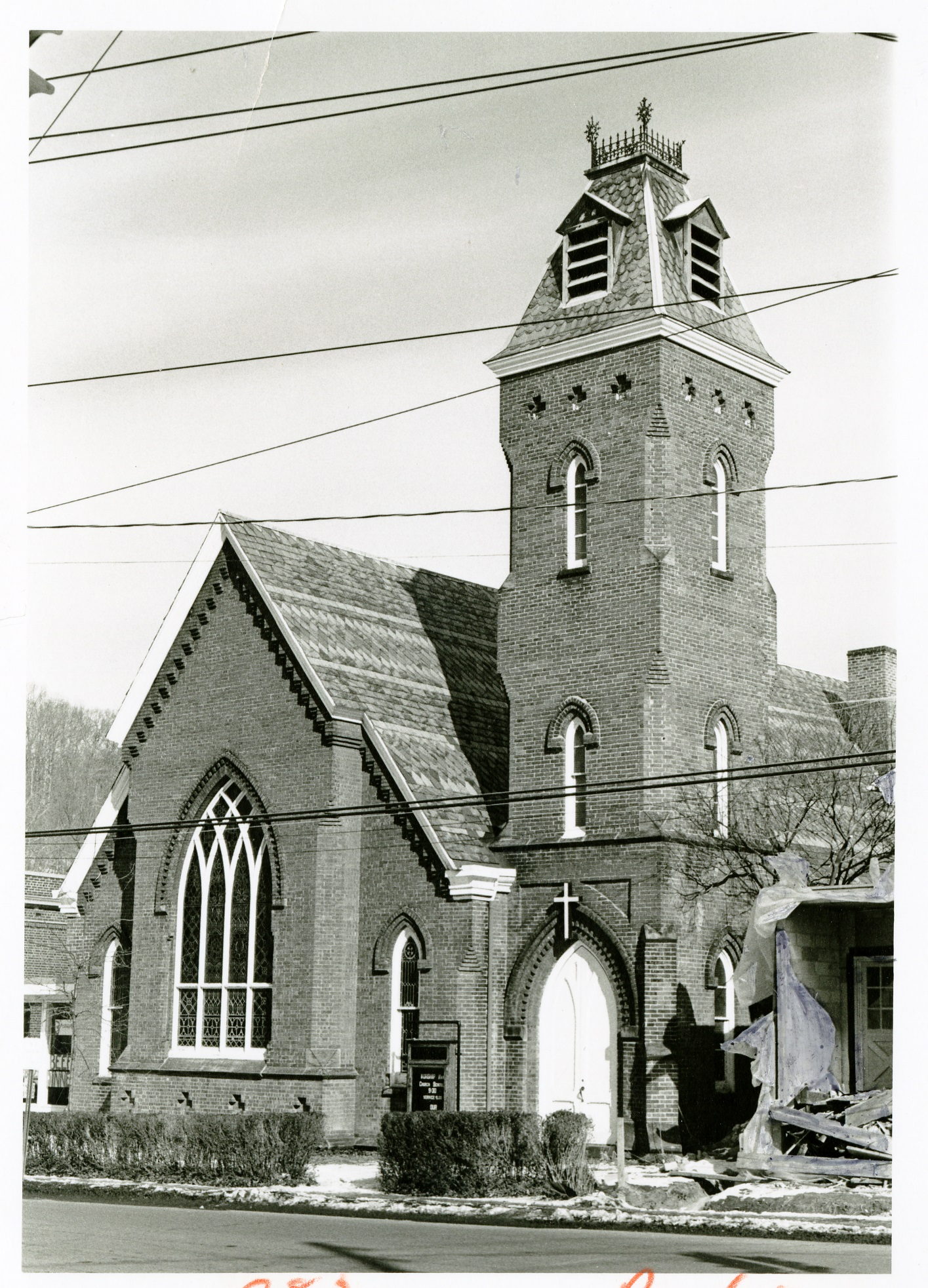Asbury United Methodist Church, 1975.