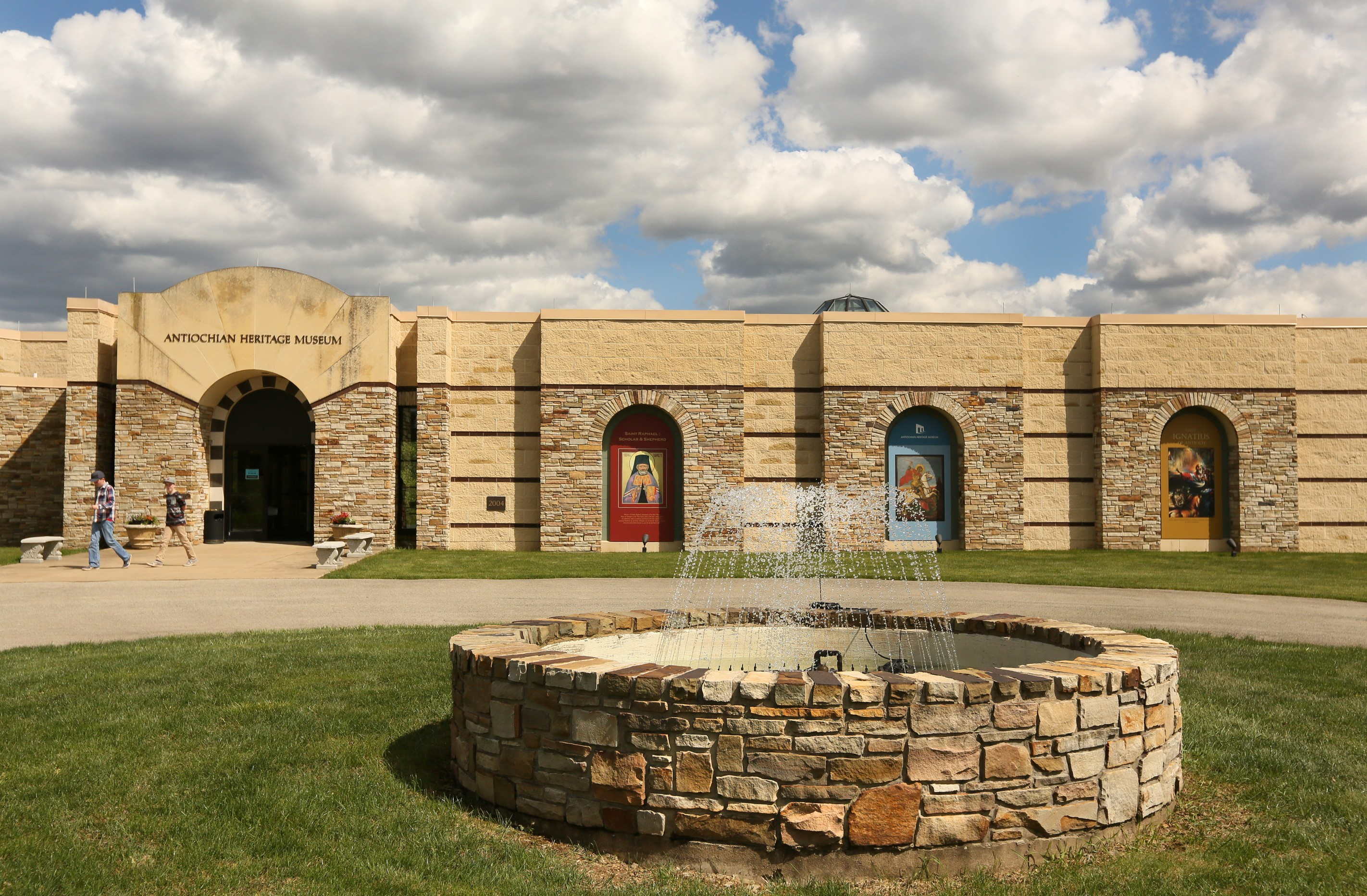 Antiochian Heritage Museum is located on the campus of Antiochian Village, a conference and retreat center, and is open to the public year-round.