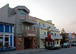 Center as seen from angle of Main Street