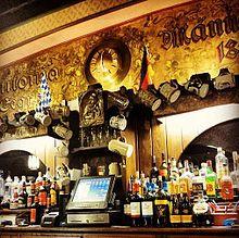 The Teutonia Männerchor Rathskeller Bar