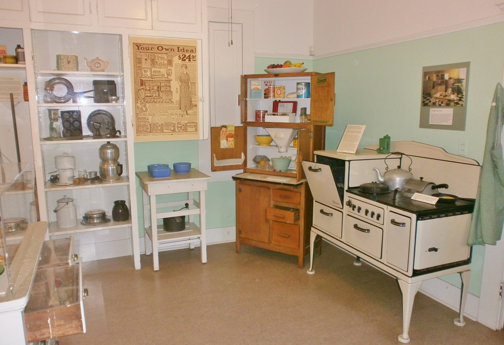 The Early 20th Century Kitchen.