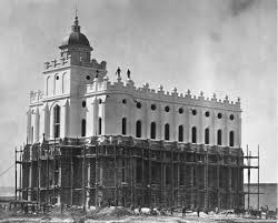 Temple under construction 1875-76