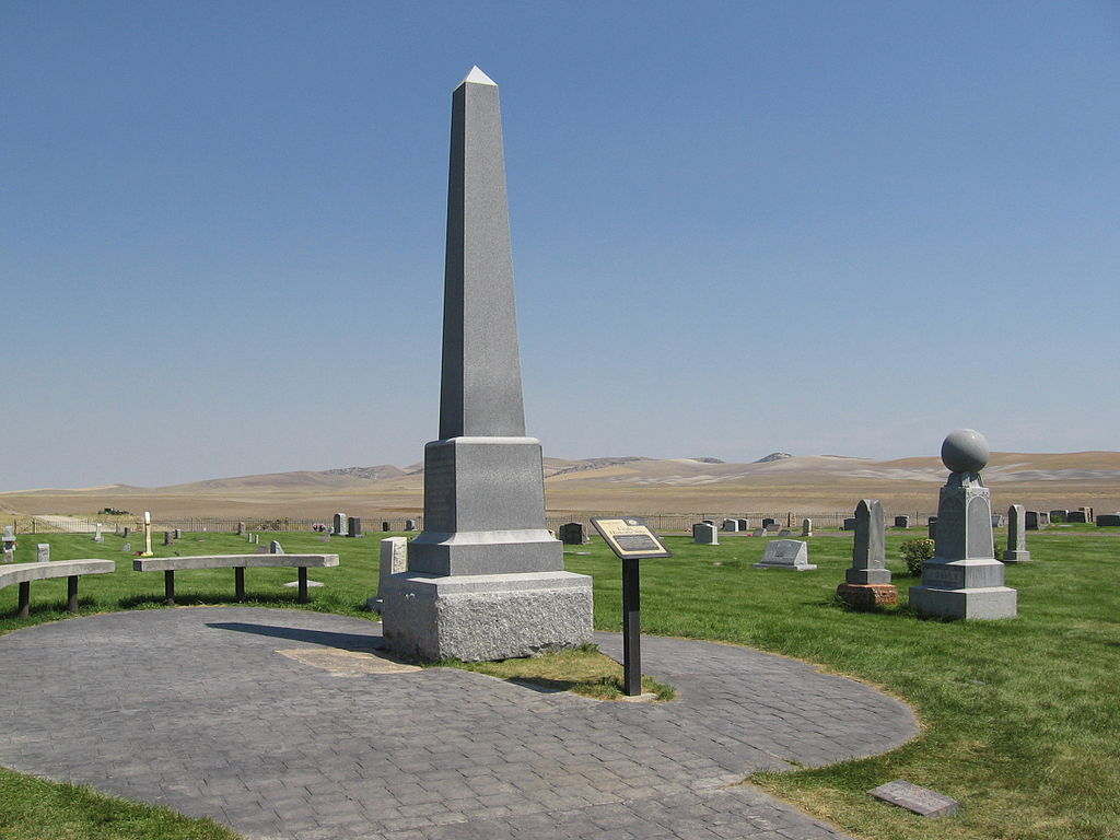 Martin Harris Grave site monument