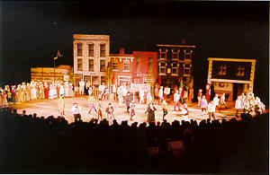Scene from the pageant