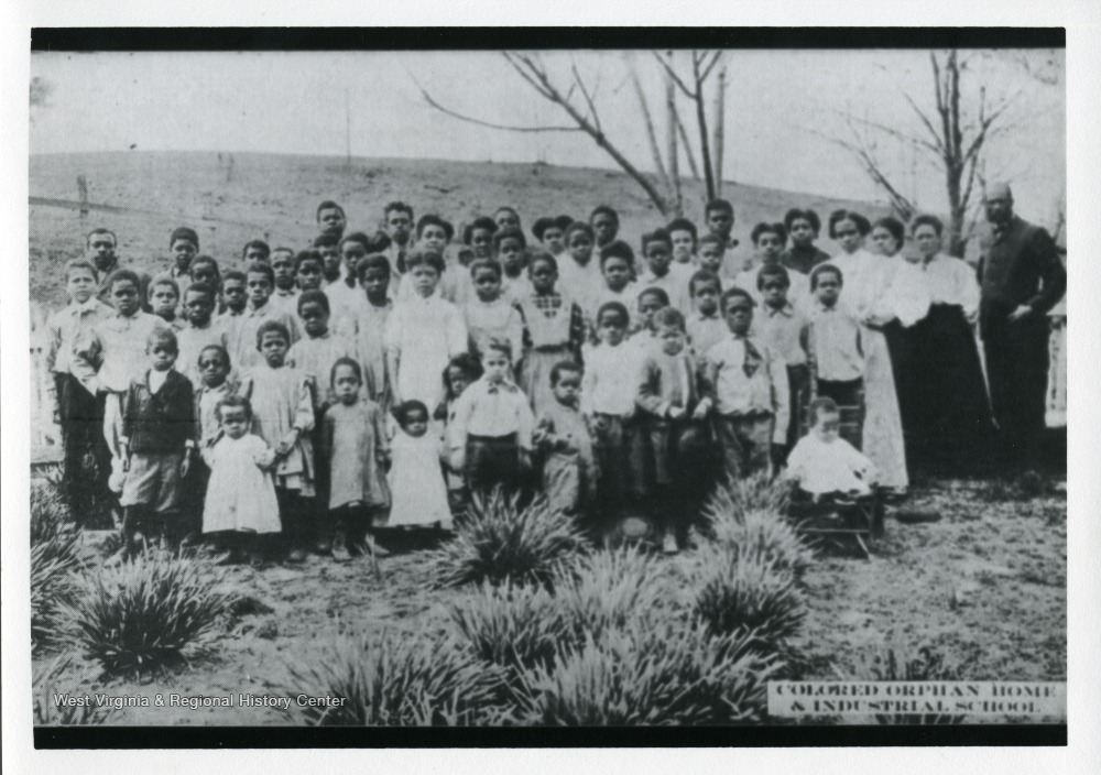 Colored Orphan's Home and Industrial School Students