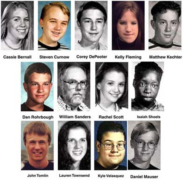 Victims of shootings