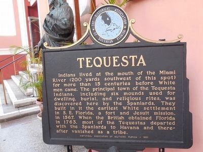Tequesta marker