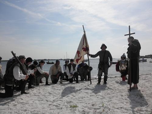 Annual De Soto Landing reenactment