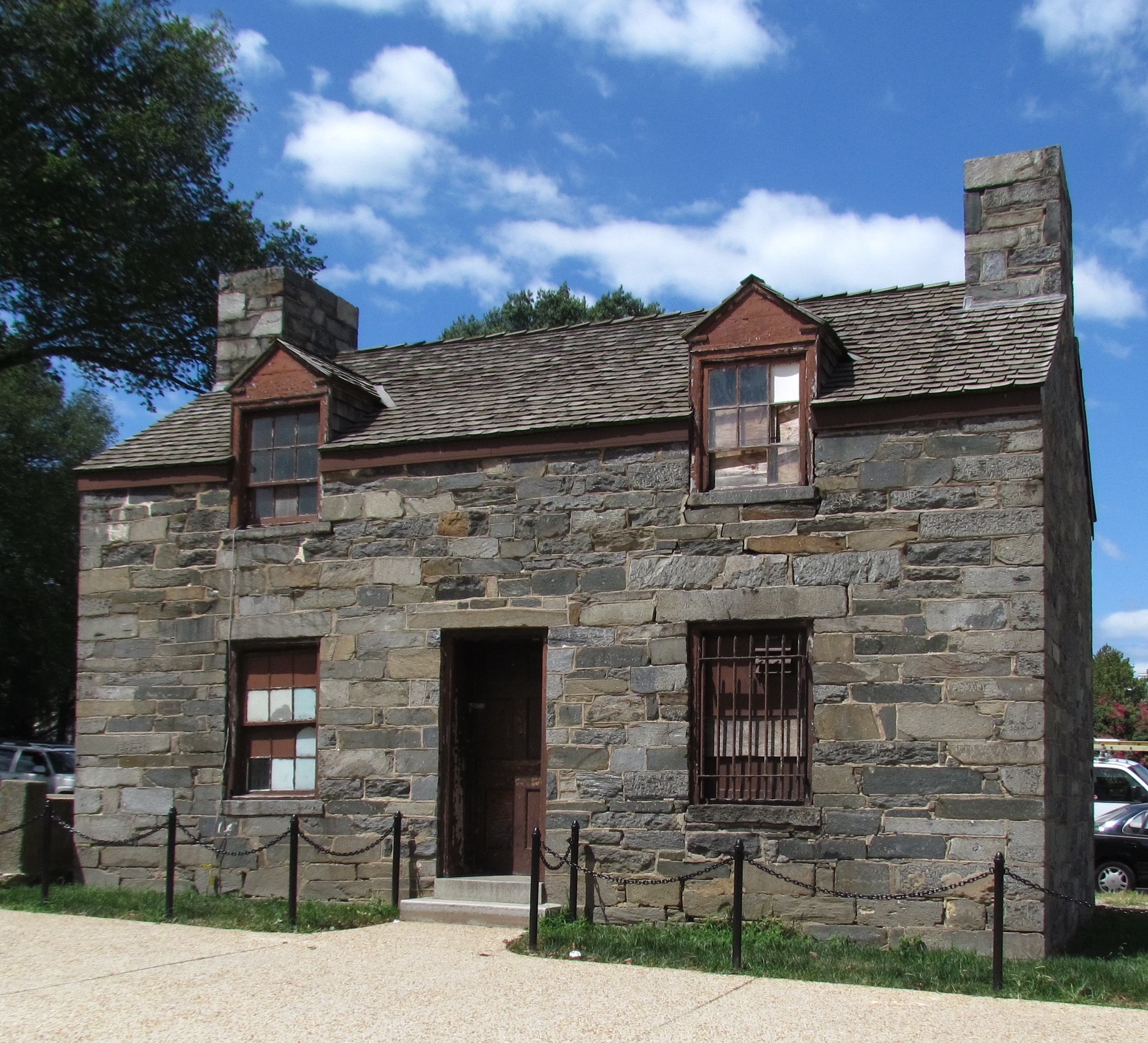 The Lockkeeper's House was built in 1835 at the eastern terminus of the C&O Canal