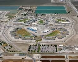 This is an overview picture of the Corcoran State Prison that Manson is located at.