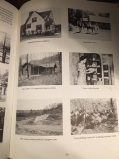 Pictures of Cacapon during construction days in 1934-1941.