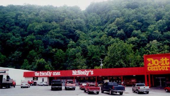 McNeelys is located in the hills of our beautiful WV.