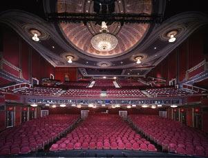 An inside shot of Broadway Theater